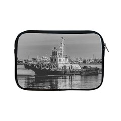 Tugboat At Port, Montevideo, Uruguay Apple Ipad Mini Zipper Cases by dflcprintsclothing