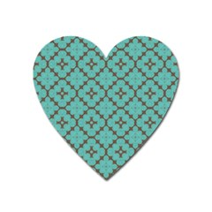 Tiles Heart Magnet by Sobalvarro