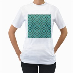 Tiles Women s T-shirt (white)  by Sobalvarro