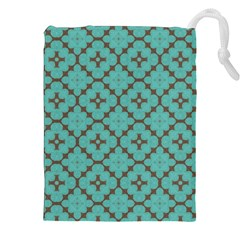 Tiles Drawstring Pouch (2xl) by Sobalvarro