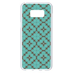 Tiles Samsung Galaxy S8 Plus White Seamless Case by Sobalvarro