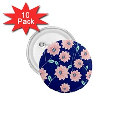 Floral 1 75  Buttons (10 Pack) by Sobalvarro