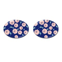 Floral Cufflinks (oval) by Sobalvarro