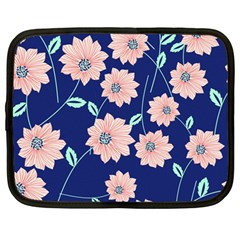 Floral Netbook Case (large) by Sobalvarro