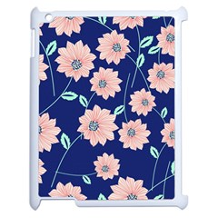 Floral Apple Ipad 2 Case (white) by Sobalvarro