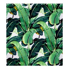 Tropical Banana Leaves Shower Curtain 66  X 72  (large)  by goljakoff