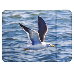 Seagull Flying Over Sea, Montevideo, Uruguay Samsung Galaxy Tab 7  P1000 Flip Case by dflcprintsclothing