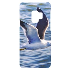 Seagull Flying Over Sea, Montevideo, Uruguay Samsung S9 Black Uv Print Case by dflcprintsclothing