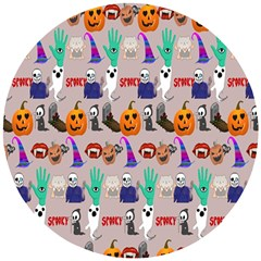 Halloween Wooden Puzzle Round by Sparkle