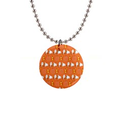 Halloween 1  Button Necklace