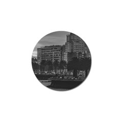 Sunset Coastal Urban Scene, Montevideo, Uruguay Golf Ball Marker (10 Pack) by dflcprintsclothing