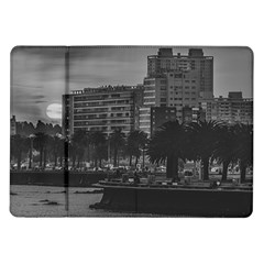 Sunset Coastal Urban Scene, Montevideo, Uruguay Samsung Galaxy Tab 10 1  P7500 Flip Case by dflcprintsclothing