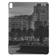 Sunset Coastal Urban Scene, Montevideo, Uruguay Apple Ipad Pro 12 9   Black Uv Print Case by dflcprintsclothing