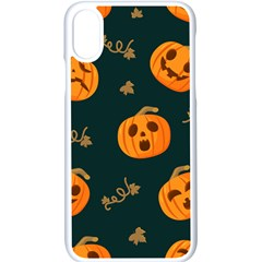 Halloween Iphone Xs Seamless Case (white) by Sobalvarro