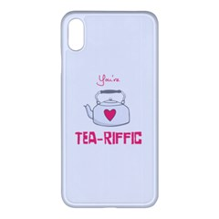 Your Tea-riffic Iphone Xs Max Seamless Case (white)