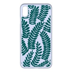 Fern Iphone Xs Max Seamless Case (white)