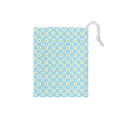 Daisies Drawstring Pouch (small)