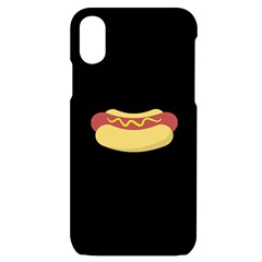 Hotdog Iphone X/xs Black Uv Print Case by CuteKingdom