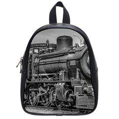 Steam Locomotive, Montevideo, Uruguay School Bag (small) by dflcprintsclothing