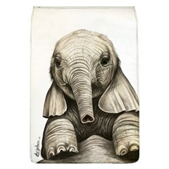 Baby Elephant Removable Flap Cover (l) by ArtByThree