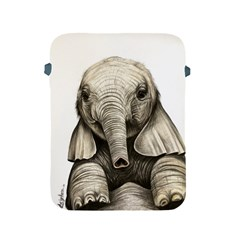 Baby Elephant Apple Ipad 2/3/4 Protective Soft Cases by ArtByThree