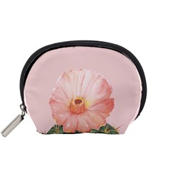 Rose Cactus Accessory Pouch (small) by goljakoff