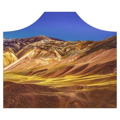 Colored Mountains Landscape, La Rioja, Argentina Wearable Blanket