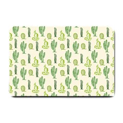 Cactus Pattern Small Doormat  by goljakoff