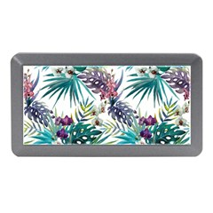Tropical Flowers Memory Card Reader (mini) by goljakoff