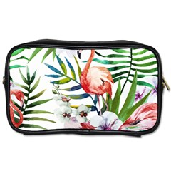 Tropical Flamingo Toiletries Bag (two Sides) by goljakoff