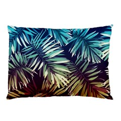 Tropic Leaves Pillow Case (two Sides) by goljakoff
