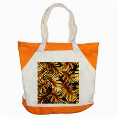 Golden Leaves Accent Tote Bag by goljakoff