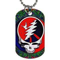 Grateful Dead - Dog Tag (two Sides)