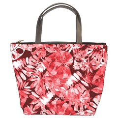 Red Leaves Bucket Bag by goljakoff