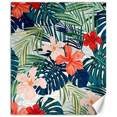Tropical Flowers Canvas 20  X 24