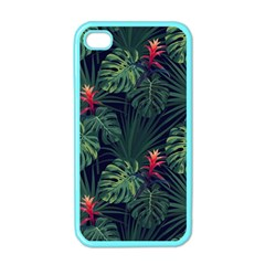 Tropical Flowers Iphone 4 Case (color)