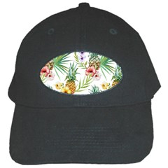 Tropical Pineapples Black Cap