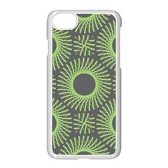 Green Spiky Rings Iphone 7 Seamless Case (white)