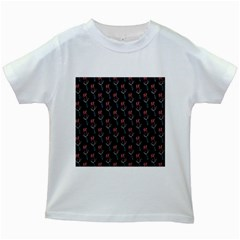Roses Kids White T-shirts by Sparkle