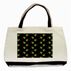 Digital Flowers Basic Tote Bag (two Sides) by Sparkle