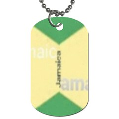 Jamaica, Jamaica  Dog Tag (two Sides)