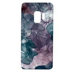 Teal And Purple Alcohol Ink Samsung Galaxy S9 Tpu Uv Case by Dazzleway