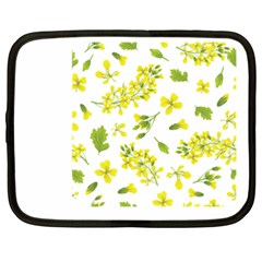 Yellow Flowers Netbook Case (xxl)