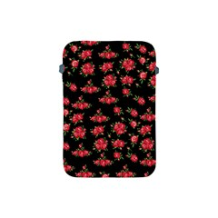 Red Roses Apple Ipad Mini Protective Soft Cases by designsbymallika