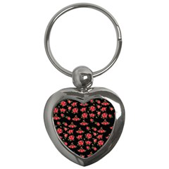 Red Roses Key Chain (heart)