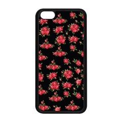 Red Roses Iphone 5c Seamless Case (black)