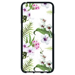 Summer Flowers Samsung Galaxy S8 Black Seamless Case by goljakoff