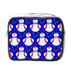 Seamless Snow Cool Mini Toiletries Bag (one Side)
