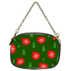 Christmas 001 Chain Purse (one Side) by MooMoosMumma