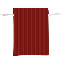 Berry Red & White -  Lightweight Drawstring Pouch (xl)